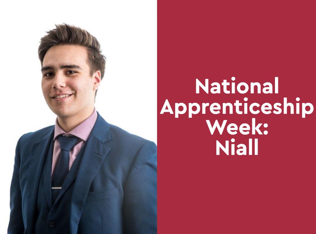 National Apprenticeship Week: Niall